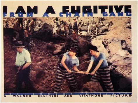 I Am a Fugitive From a Chain Gang, 1932 Art Print