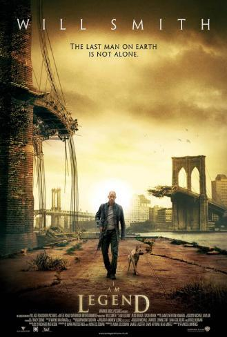 I Am Legend - UK Style Poster
