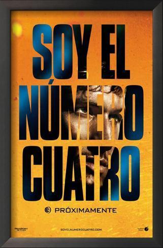 I Am Number Four - Spanish Style Impressão artística emoldurada
