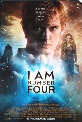 I Am Number Four Double-sided poster