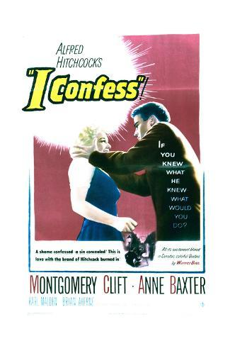 I Confess - Movie Poster Reproduction Art Print