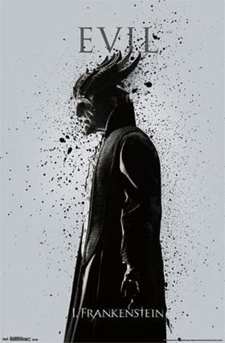 I, Frankenstein - Evil Poster