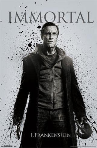 I, Frankenstein - Immortal Poster