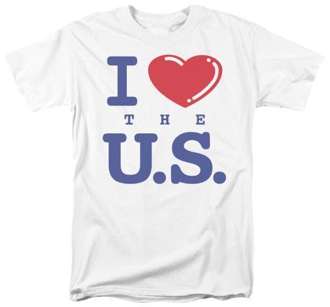 I Love the U.S. T-Shirt