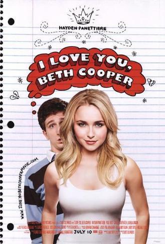 I Love You, Beth Cooper Poster