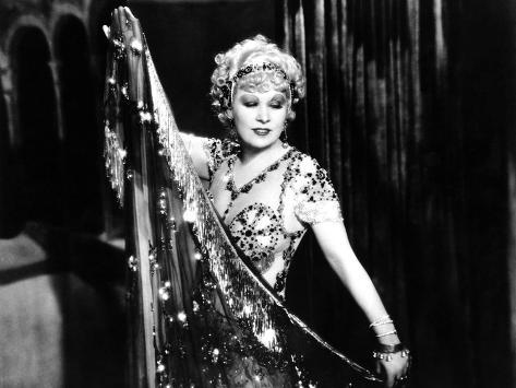 I'm No Angel, Mae West, 1933 Fotografía