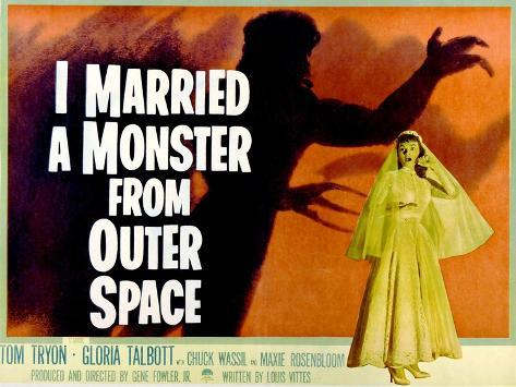 I Married A Monster From Outer Space, Gloria Talbott, 1958 Photo