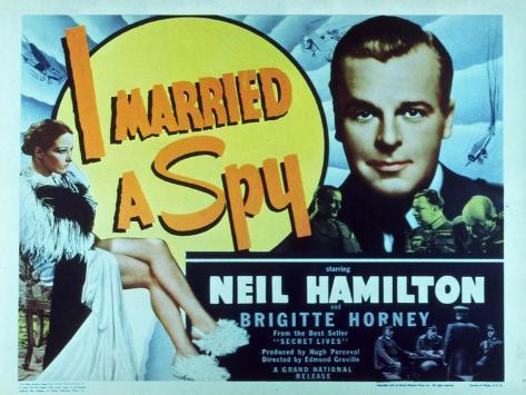 I Married a Spy, 1938 Stampa artistica