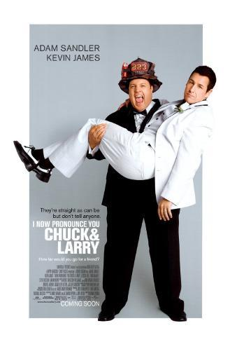 I Now Pronounce You Chuck And Larry Double-sided poster