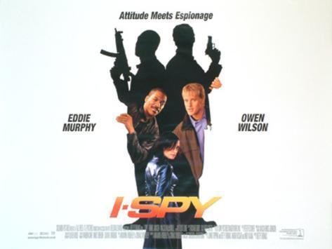 I Spy (Eddie Murphy, Owen Wilson, Famke Janssen) Movie Poster Original Poster