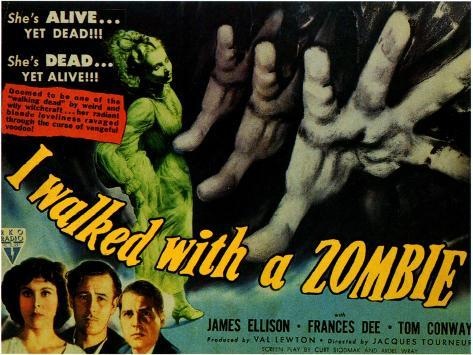 I Walked With a Zombie, 1943 Art Print