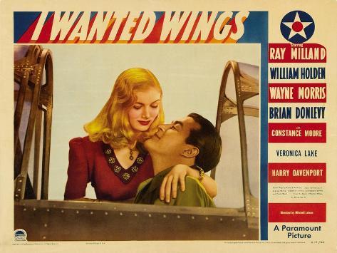 I Wanted Wings, 1941 Art Print