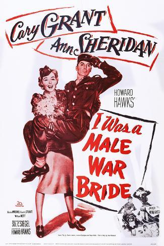 I Was a Male War Bride Art Print