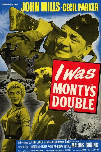 I Was Monty's Double Art Print