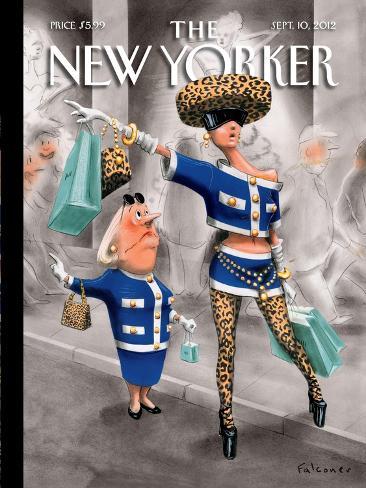 The New Yorker Cover - September 10, 2012 Premium Giclee Print