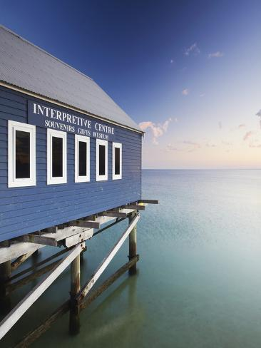Busselton Pier at Dawn, Western Australia, Australia Photographic Print