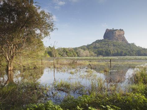 Sigiriya, UNESCO World Heritage Site, North Central Province, Sri Lanka, Asia Photographic Print