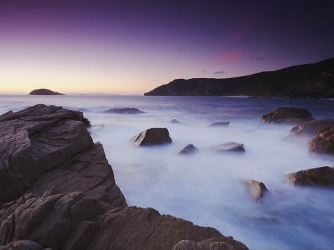 Torndirrup National Park at Sunset, Albany, Western Australia, Australia Photographic Print