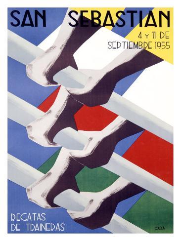 San Sebastian Giclee Print