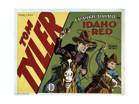 Idaho Red Art Print