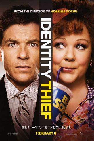Identity Thief (Jason Bateman, Melissa McCarthy) Movie Poster Poster