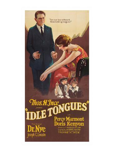 Idle Tongues Art Print