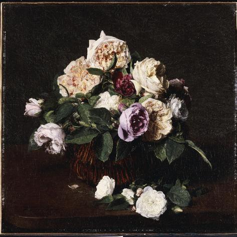 Vase of Flowers, 1876 Lámina giclée