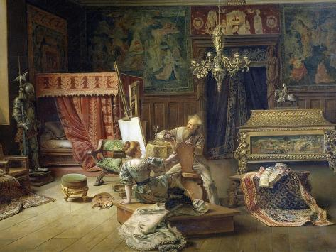 The Painter's Studio Giclee Print