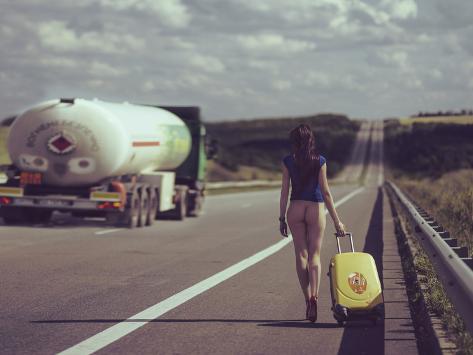 The Road.... Stampa fotografica