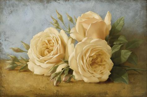 Roses from Ivan Art Print