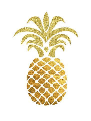 Pineapple 4 Art Print