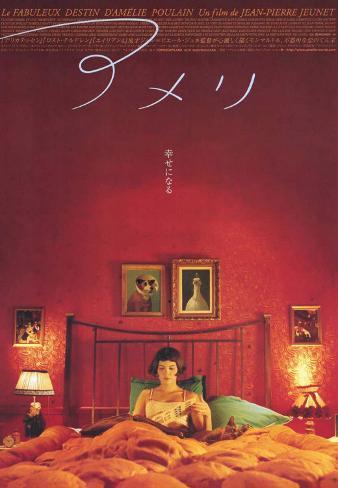 Il favoloso mondo di Amélie Stampa su tela