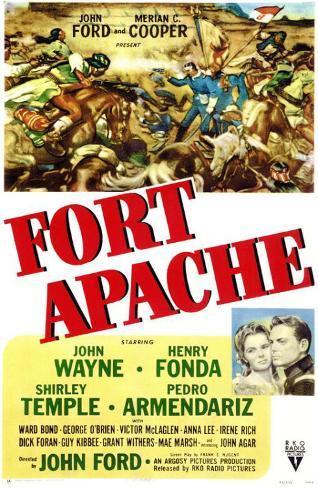Il massacro di Fort Apache Stampa master