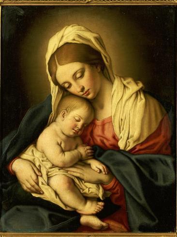 The Madonna and Child Giclée-vedos