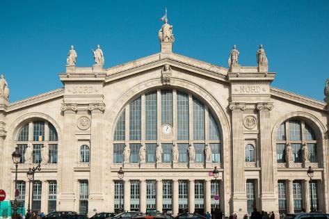 Gare Du Nord Paris France Photographic Print