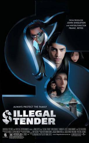 Illegal Tender 両面印刷ポスター