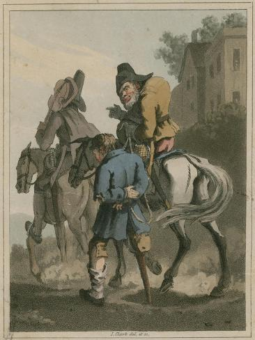 Illustration from Hudibras by Samuel Butler Giclee Print