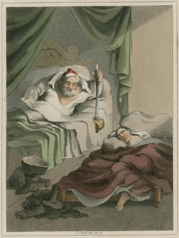 Illustration from Hudibras by Samuel Butler Giclee Print