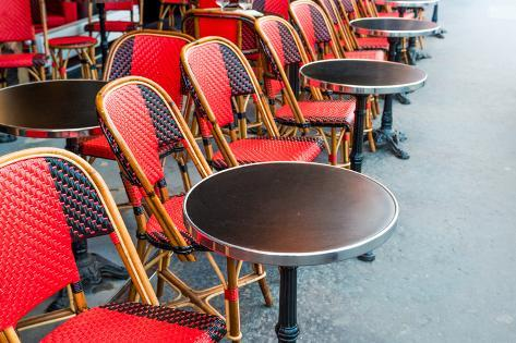 Traditional Parisian Coffee in Paris,France Photographic Print