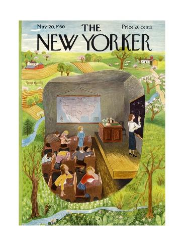 The New Yorker Cover - May 20, 1950 Premium Giclee Print