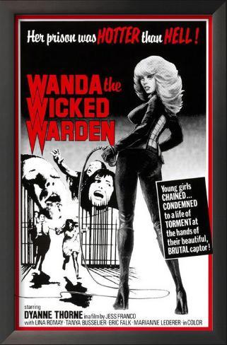 Ilsa, The Wicked Warden Impressão artística emoldurada