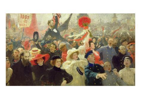 October 17th, 1905 Giclee Print