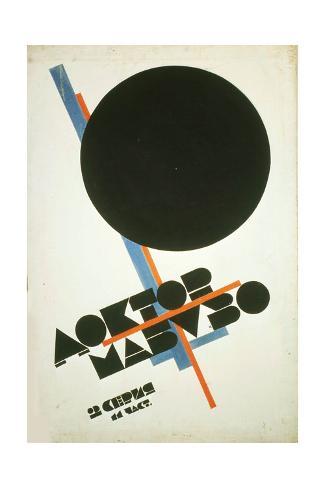 Doctor Mabuso (Movie Poster) Stampa giclée