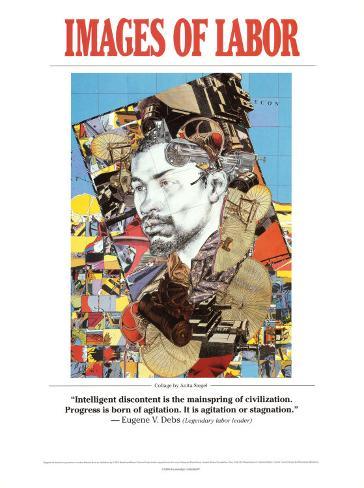 Images of Labor - Eugene V. Debs Framed Art Print