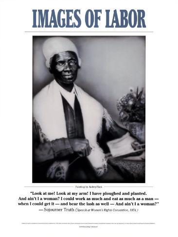 Images of Labor - Sojourner Truth Art Print