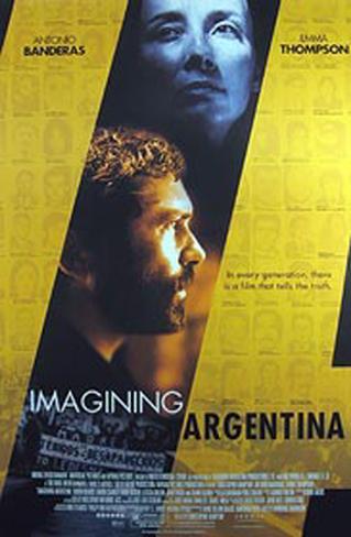 Imagining Argentina Original Poster