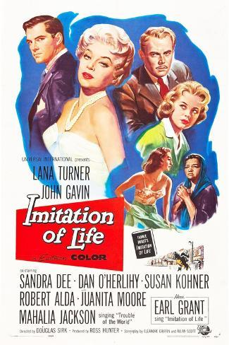 IMITATION OF LIFE Art Print