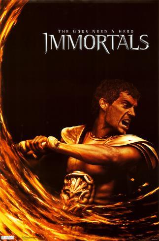 Immortals - Theseus ポスター
