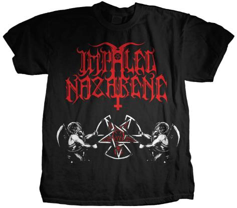Impaled Nazarene - Nuclear Pentagram T-Shirt