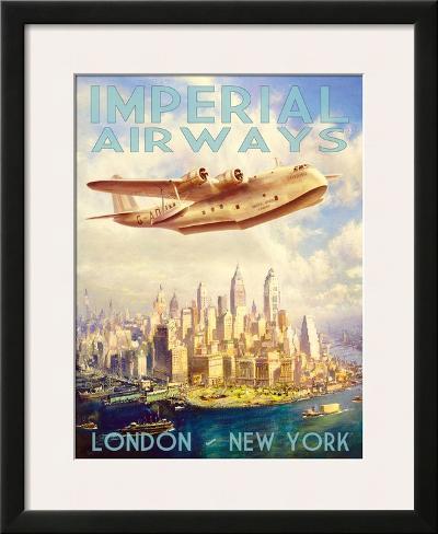 Imperial Airways Framed Art Print
